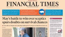 Prime Minister's future is a hot topic in Monday's papers