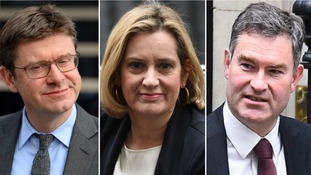 Pro-EU Cabinet ministers - Business Secretary Greg Clark, Works and Pensions Secretary Amber Rudd and Justice Secretary David Gauke.