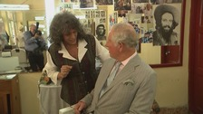 Heir's hair off limits as Charles visits Cuba barber shop