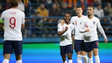 England's five-star result marred by racist chanting