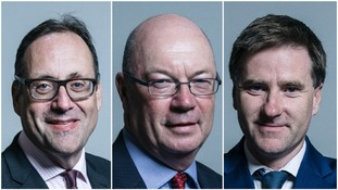 Richard Harrington, Alistair Burt and Steve Brine resigned on Monday night.