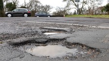 Pothole problems continue as funding falls short