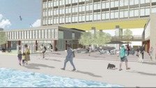 Plans submitted to turn Plymouth's crumbling Civic Centre into luxury flats