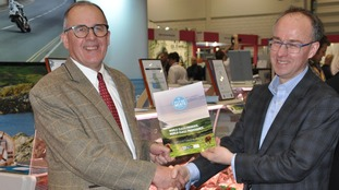 Philip Woodfield, Sales and Purchasing Manager, Northgate Foods, and Tim Baker MHK, Chair of Isle of Man Meats.
