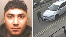 Mohammed Casim Hussain (20) has been jailed for 16 months after hitting a pedestrian in a high speed chase.