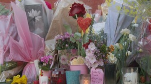 Flowers for Libby to be preserved in her memory