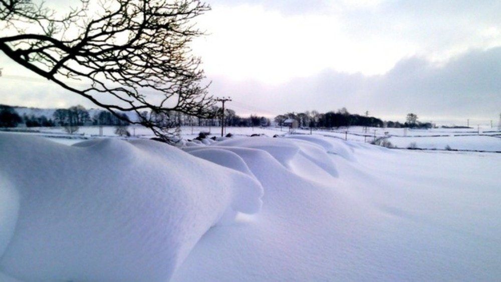 Your Best Pictures Of A Snowy Uk Weekend Itv News