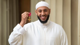 Imam Mohammed Mahmoud is made an OBE.