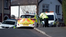 Farnworth police scene