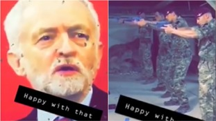 Corbyn 'shocked' by target practice video as Army launches investigation