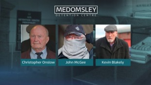 Three former Medomsley prison officers jailed over physical abuse on boys