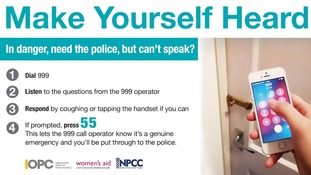 The campaign aims to bust a common myth around silent 999 calls.