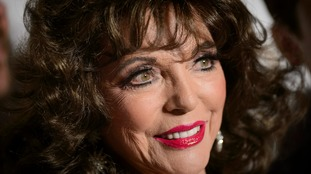 Joan Collins thanked firefighters for their help.