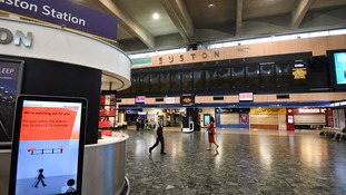 Disruption for rail passengers over Easter weekend as Euston closes
