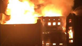 A second fire at the school in 2018 was more destructive