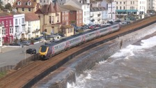 Plans for a new sea wall in Dawlish have been approved.