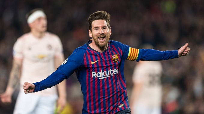 c8fe2566da9 Lionel Messi stars as Barcelona dump Manchester United out of the Champions  League