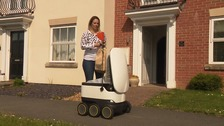 RoboShop: Meet the robots delivering shopping in Milton Keynes