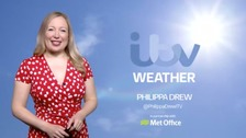 Philippa has the Easter weather