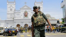 Five Britons among almost 300 killed in Sri Lanka hotel and church blasts