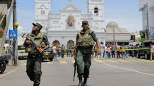 Eight Britons among hundreds killed in Sri Lanka attacks