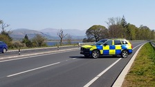 Man dies after car crash in Cumbria