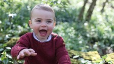 Kate shares photos of Louis to mark prince's first birthday