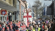 Politicians left red-faced as St George's Day is switched