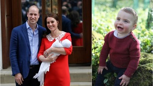 Kate or William? Royal fans divided over just who adorable Prince Louis resembles in new first birthday images