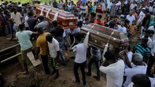 At least 45 children among dead in Sri Lanka