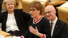 Sturgeon pledges independence referendum by 2021 election