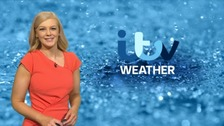 Wales weather: Heavy, thundery showers throughout the day
