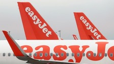 Luton based easyJet bans sale of nuts on flights