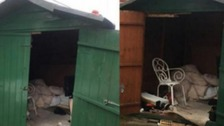 Third arrested over man who 'lived in a shed for 40 years'