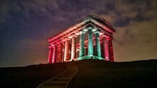 Sunderland lights up to show solidarity with Sri Lanka