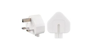 The plugs, primarily used in the UK, Hong Kong and Singapore, were sold with Mac computer and mobile devices between 2003 and 2010.