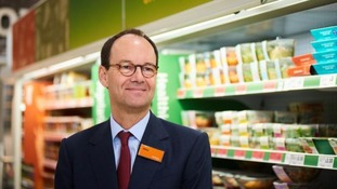 Sainsbury's boss Mike Coupe is now under intense pressure.