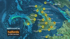 After a dry start, wet and windy weather is on the way