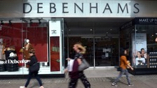 Debenhams to close stores in Birmingham and Wolverhampton