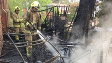 aldershot church nursery fire