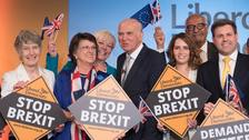 Cable 'regrets' there is no joint ticket for Remain in EU elections