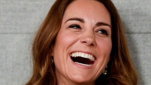 Kate during a visit to the Anna Freud Centre in London where she opened their new building.