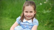 A picture of Princess Charlotte was taken by the Duchess of Cambridge and released to mark her daughter's fourth birthday.
