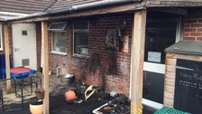 Sunbeams and Buddies Day Care was set on fire during the Easter holidays