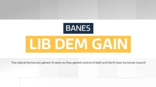 Lib Dems gain 19 seats to take control of Bath and North East Somerset Council