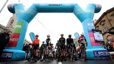 The women's start in Barnsley