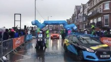 Men's race sets off from Bridlington