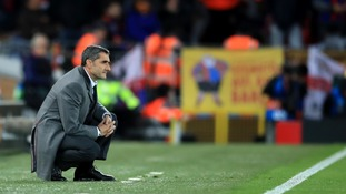 Valverde admits Barcelona were 'rolled over' and 'blown away' by Liverpool