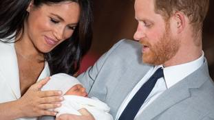Harry heads to The Hague for Invictus Games event just 24 hours after introducing Archie to the world
