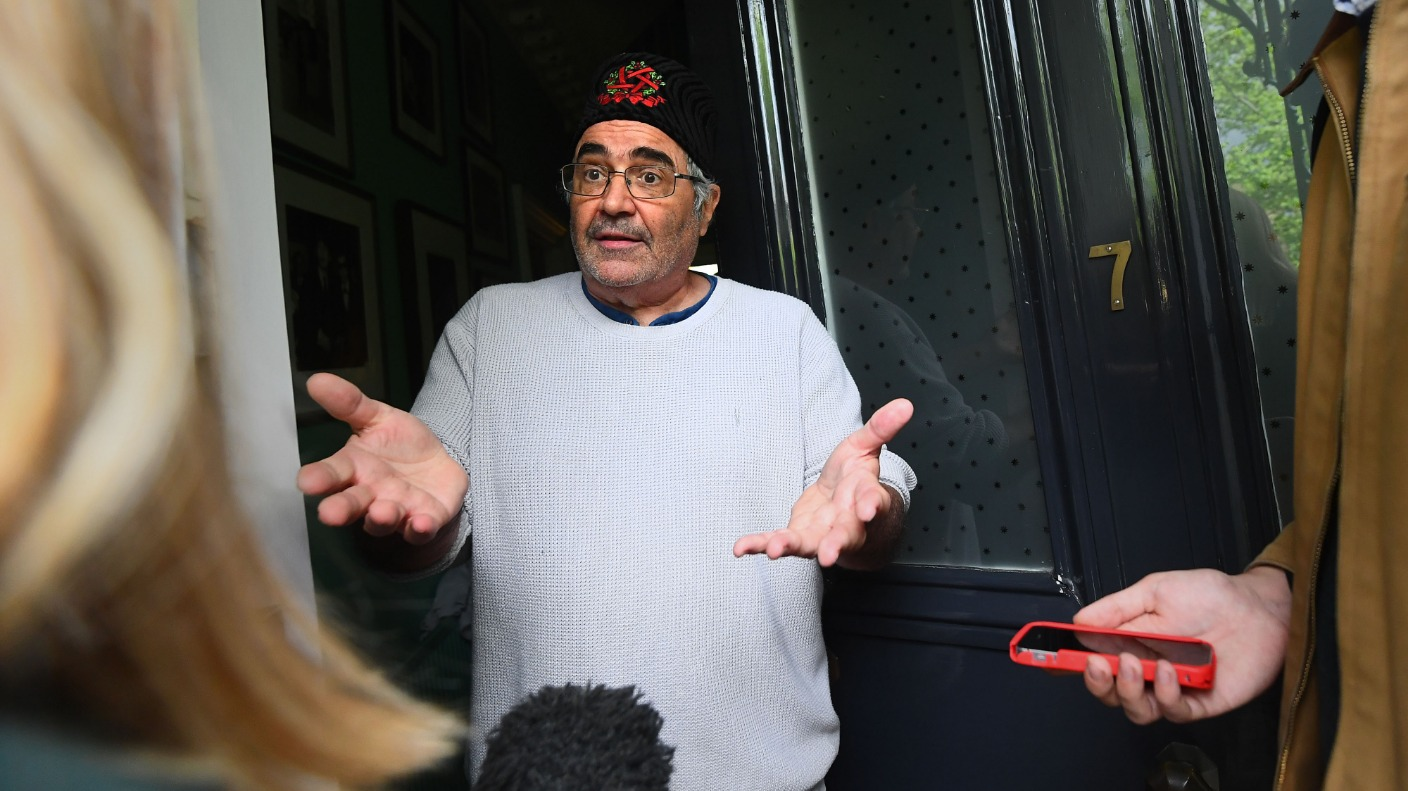 Radio DJ Danny Baker fired by BBC after 'stupid' royal baby